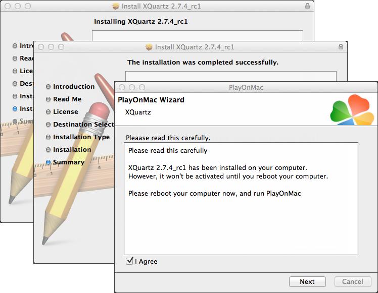 Installing XQuartz